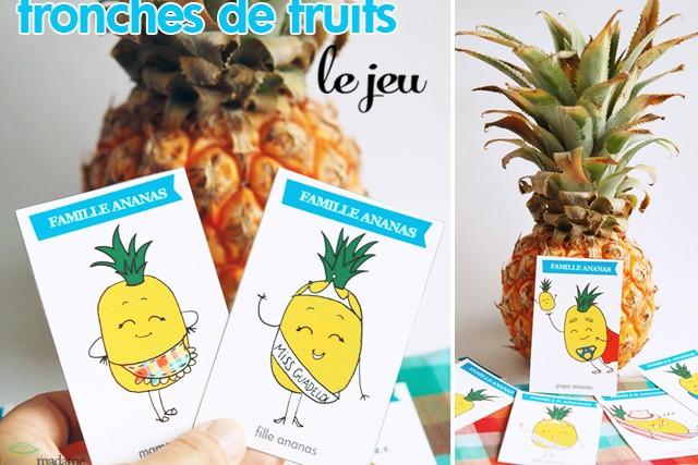 sept famille ananas