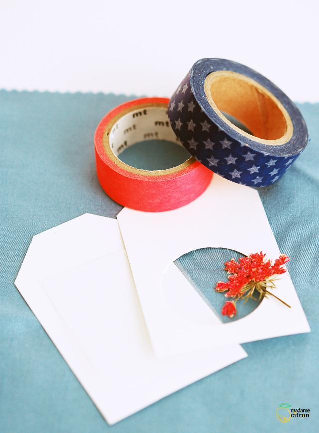 étiquettes cadeaux tags