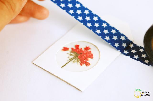 étiquette masking tape