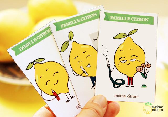 Exceptionnel Jeu des 7 familles à imprimer - les citrons | Madame Citron - Blog  DV58