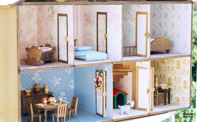 maison miniature bois