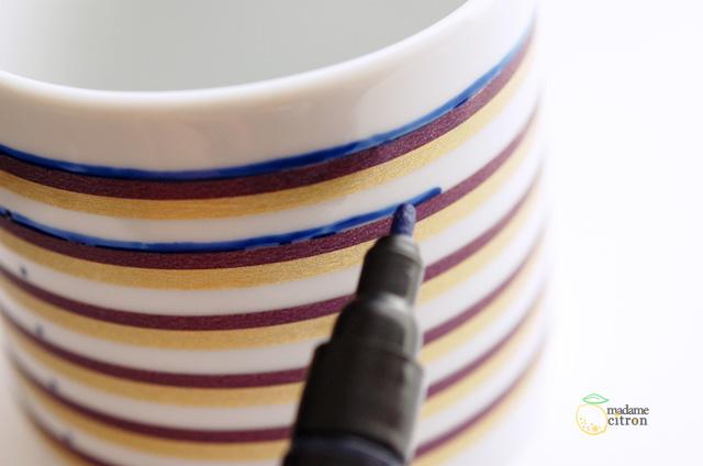 marqueur porcelaine