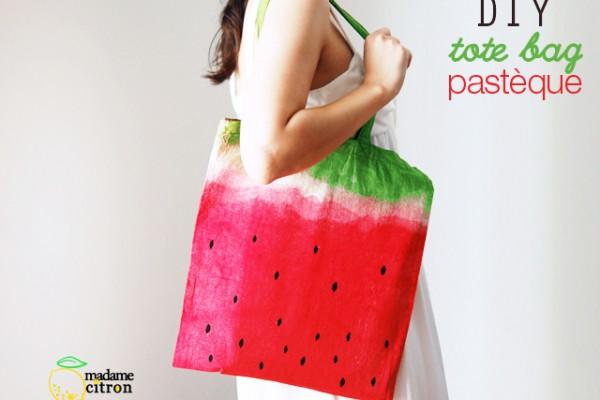 tuto sac pastèque