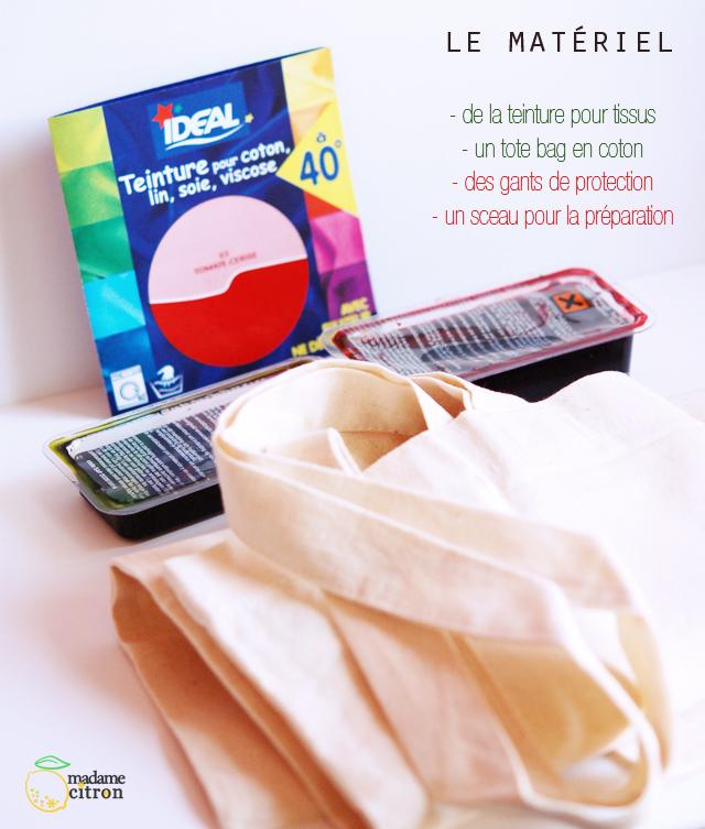 Tuto de sac past que madame citron blog de cr ations - Teinture ideal mode d emploi ...