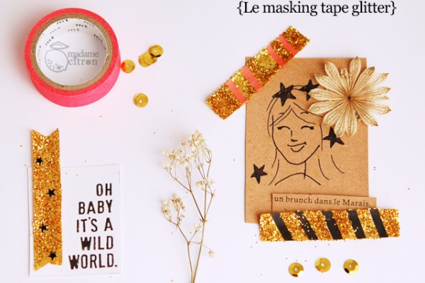 DIY masking tape