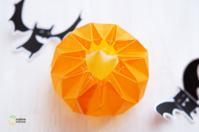 Tuto Diy Une Citrouille Pour Halloween Madame Citron Blog De