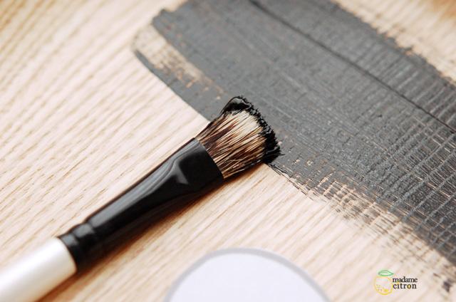 peinture ardoise application