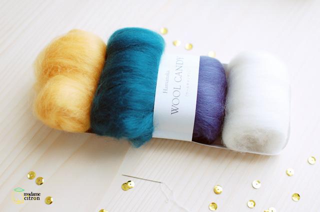 tuto laine cardée