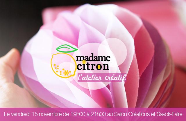 madame citron atelier