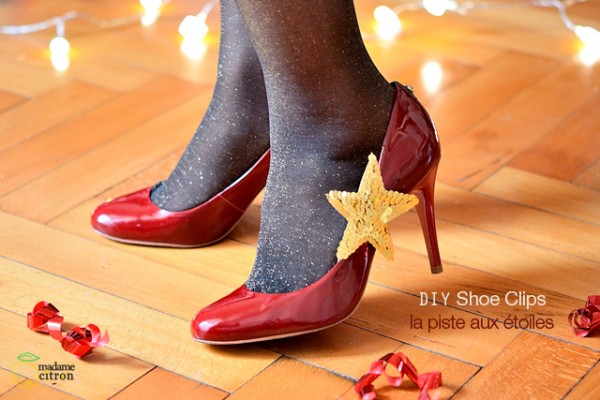 diy shoe clip