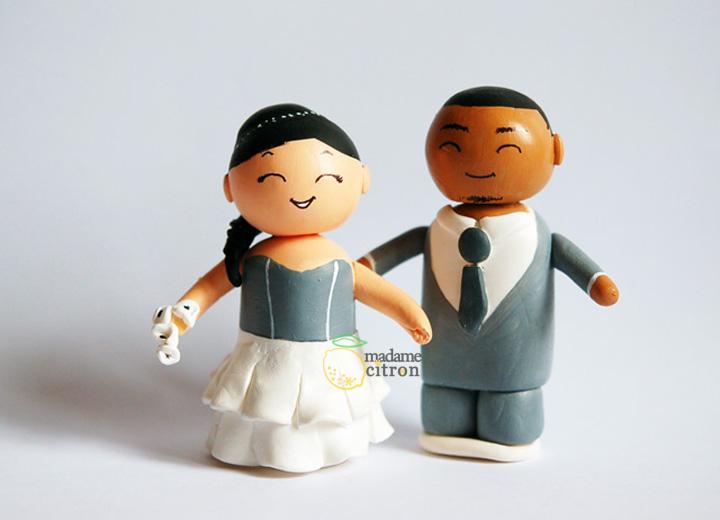 Figurines De Mariage Personnalisees Madame Citron Blog De