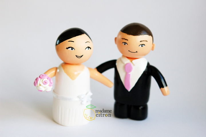figurines mariage personnalisé