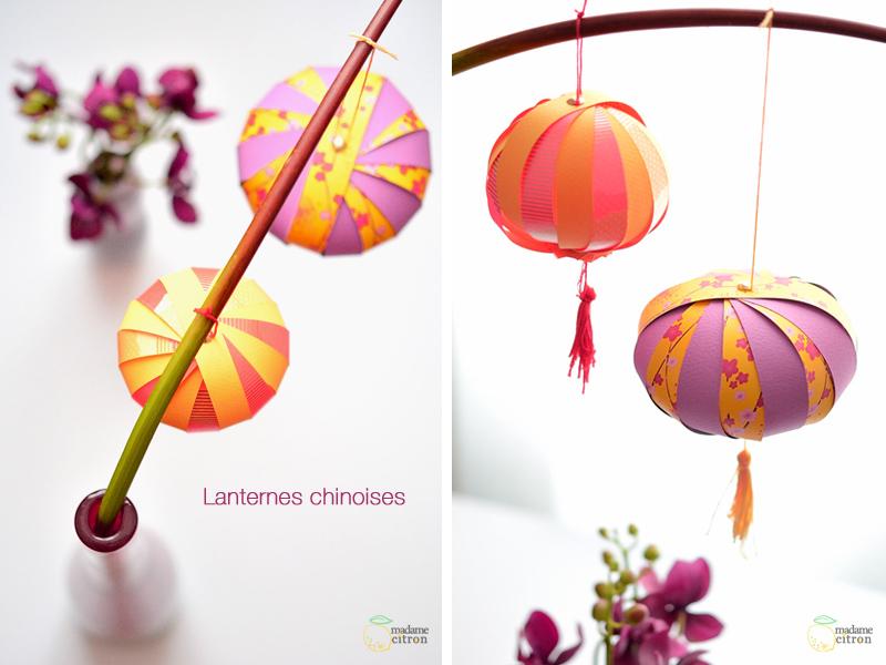 Diy Tuto Boule Chinoise | Madame Citron - Blog De Créations Et Diy