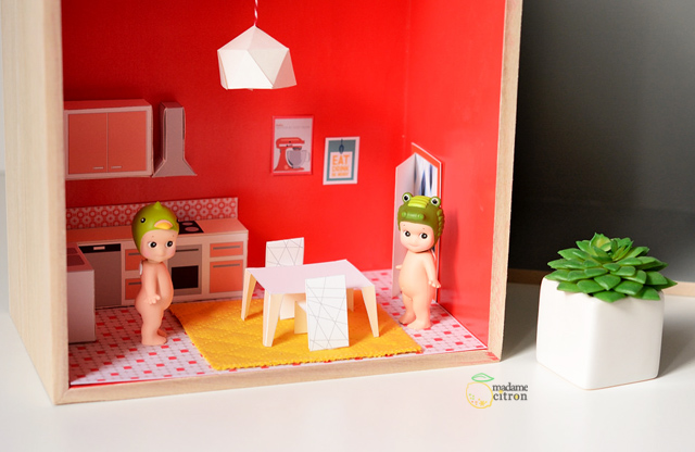 meuble miniature maison poupée
