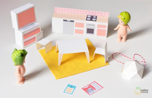 diy une maison de poup e meubles miniatures imprimer la cuisine madame citron blog de. Black Bedroom Furniture Sets. Home Design Ideas