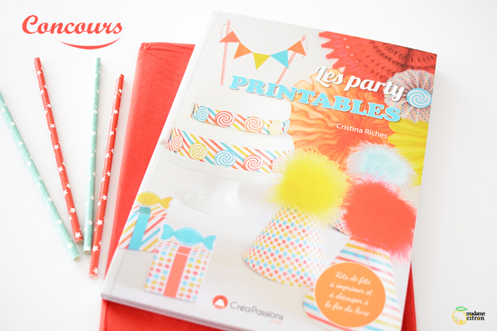 livre les party printables cristina riches