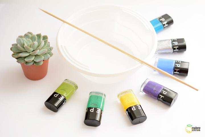 peinture à effet