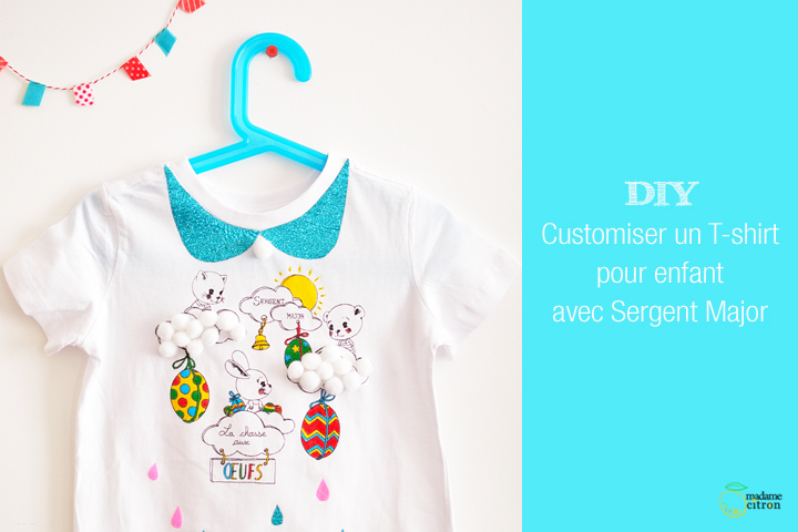 customiser un tee-shirt enfant