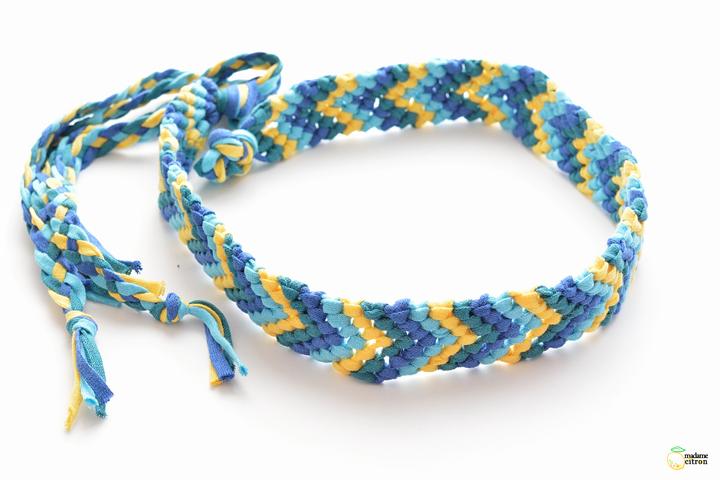 Bracelet en laine homme