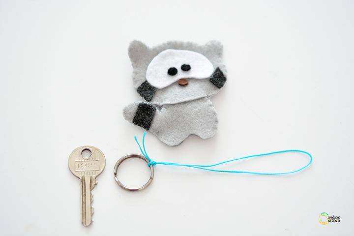 fabriquer un porte clé