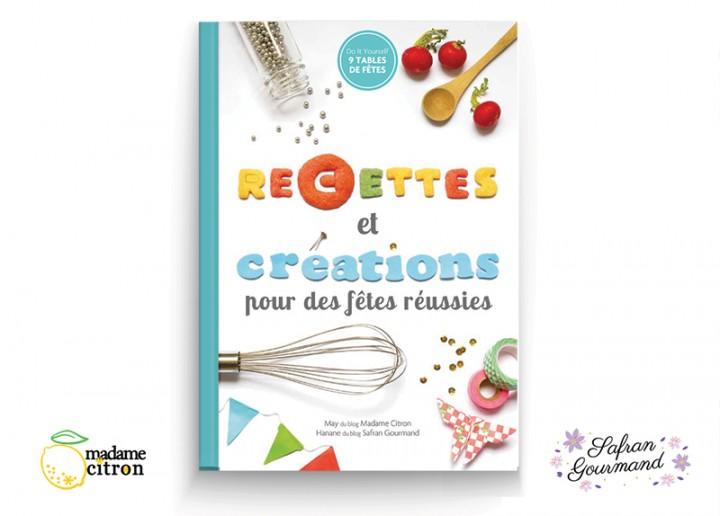 livre recettes et DIY
