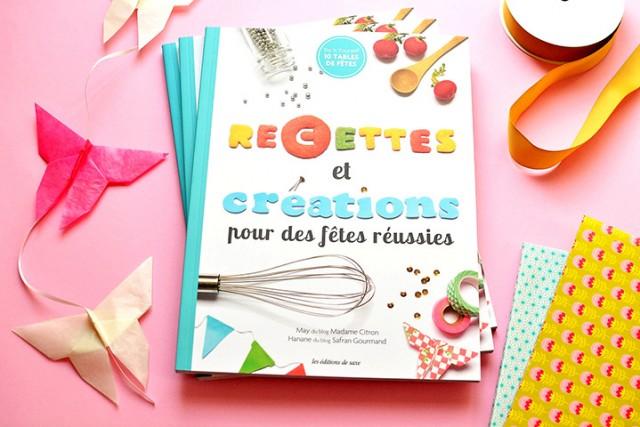 recettes et creations pour des fêtes reussies
