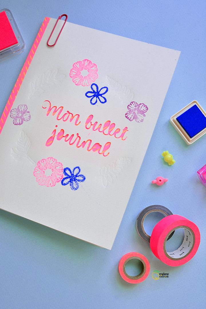 bujo bullet journal